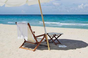 Şemsiye, Sandalye ve Şezlonglar